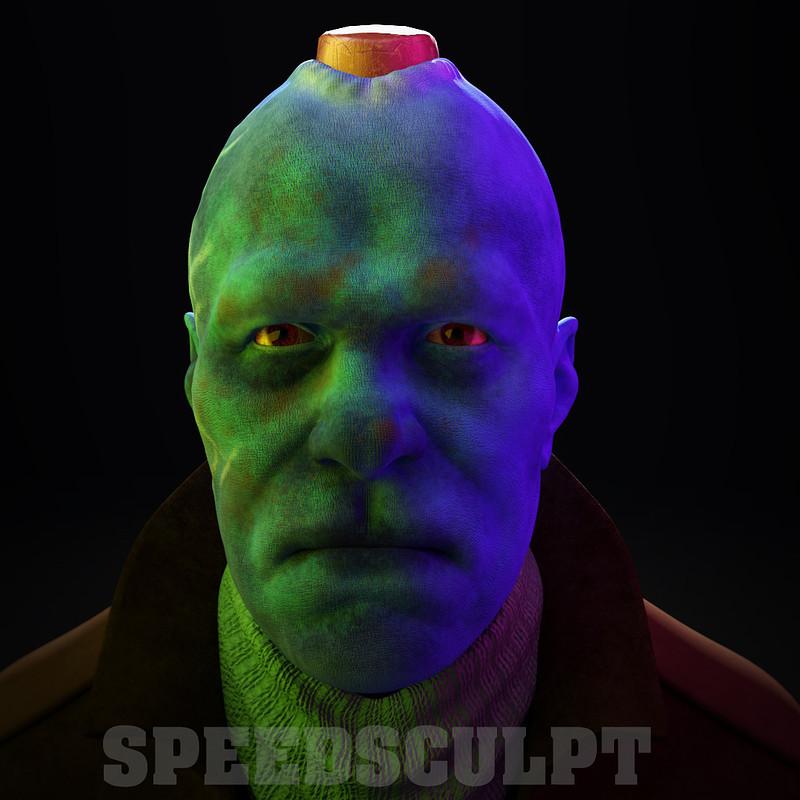 Marvel's Yondu Udonta Speedsculpt