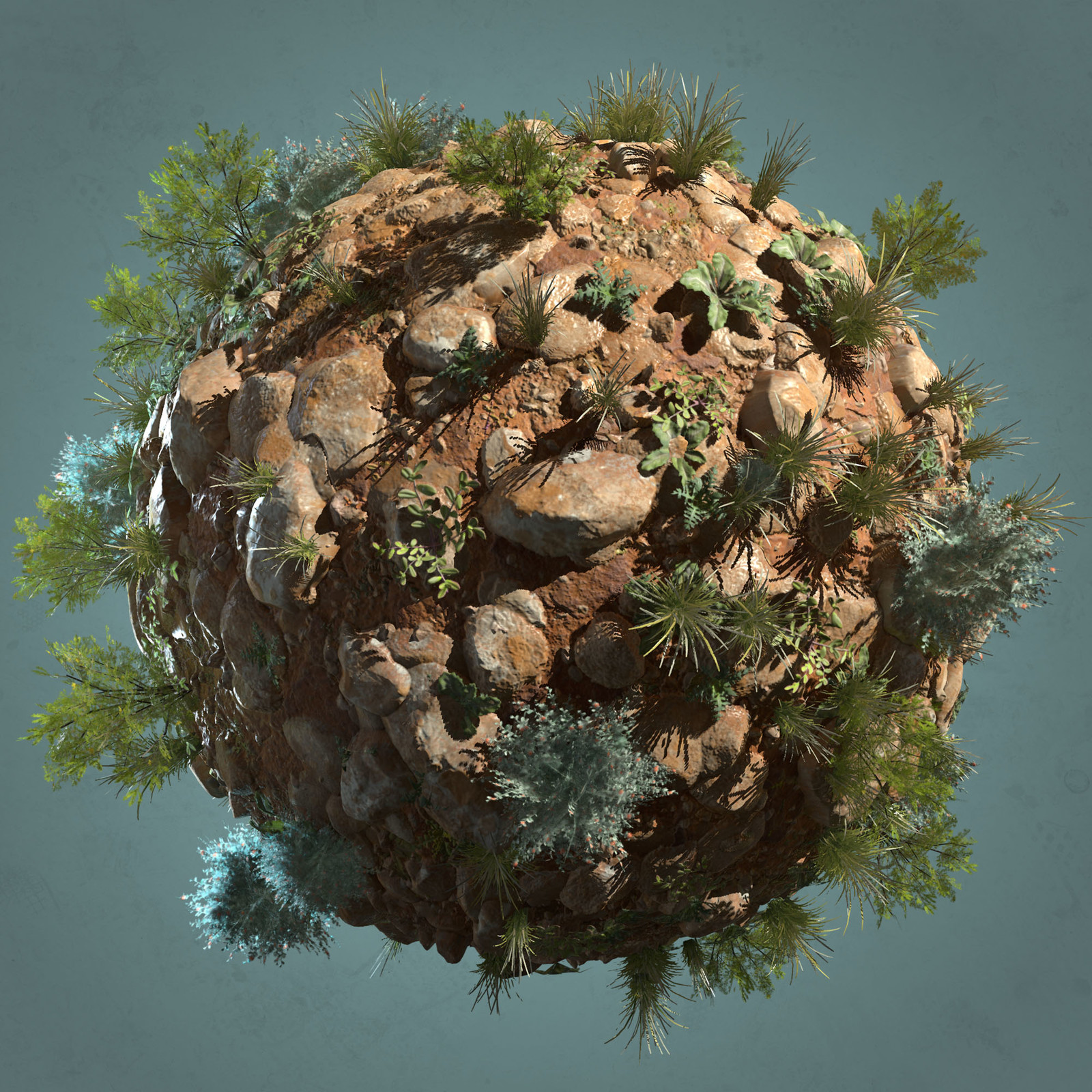 Eco Planet Desert Ground