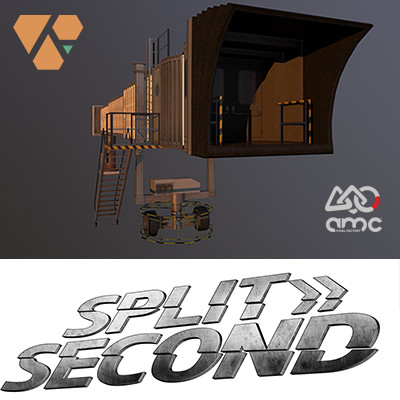Split Second: Environment Art