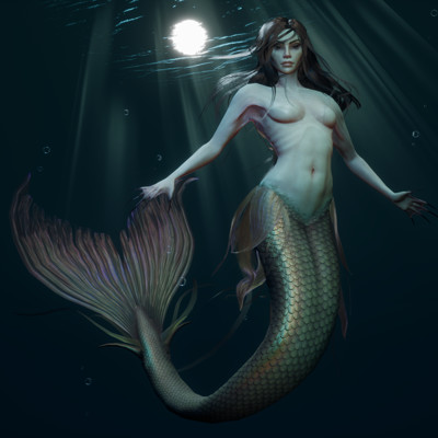 Shannon symonds mermaid artstation thumbnail