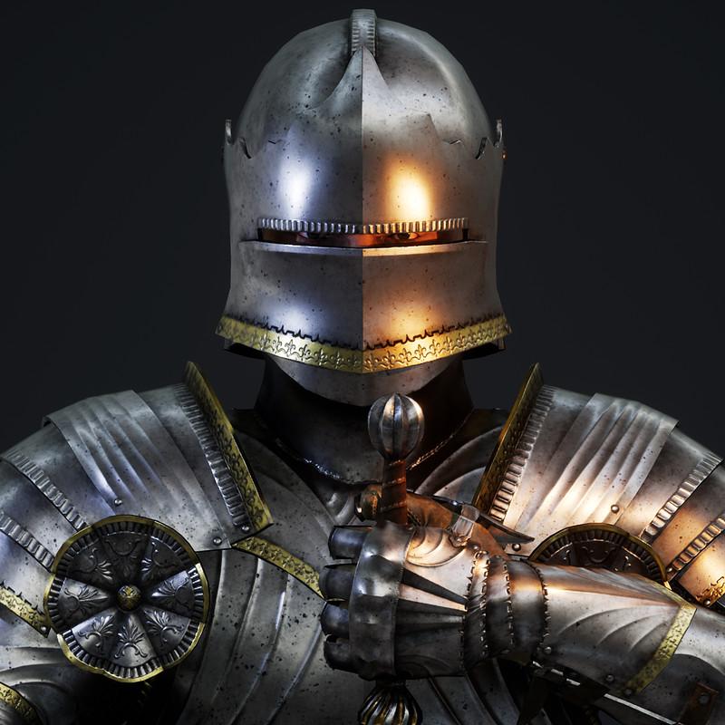 Gothic Knight PBR