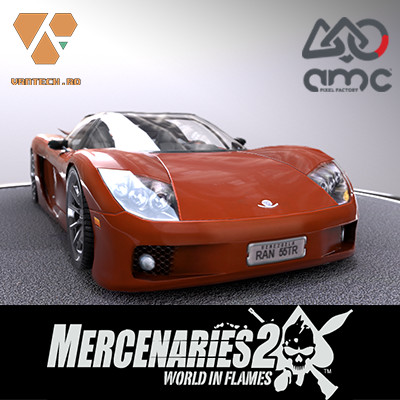 Mercenaries 2: World in Flames car: Veloce