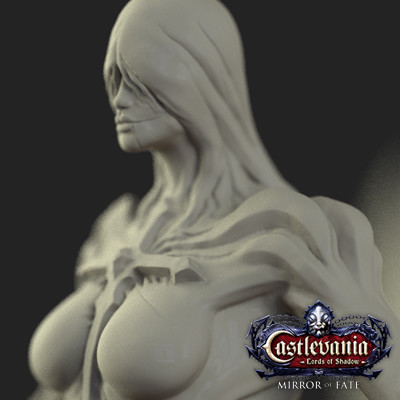 Castlevania Mirror of Fate ::: Models