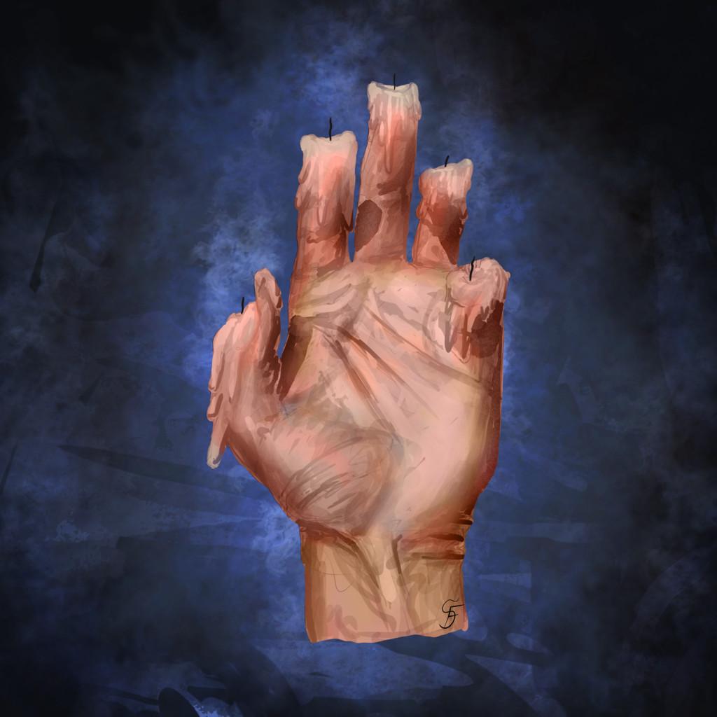 Elemental Hands Nr. 2 - Wax