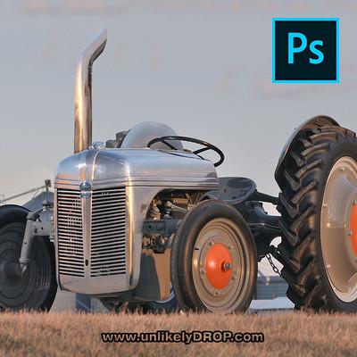 Slammed Ford 9N Tractor