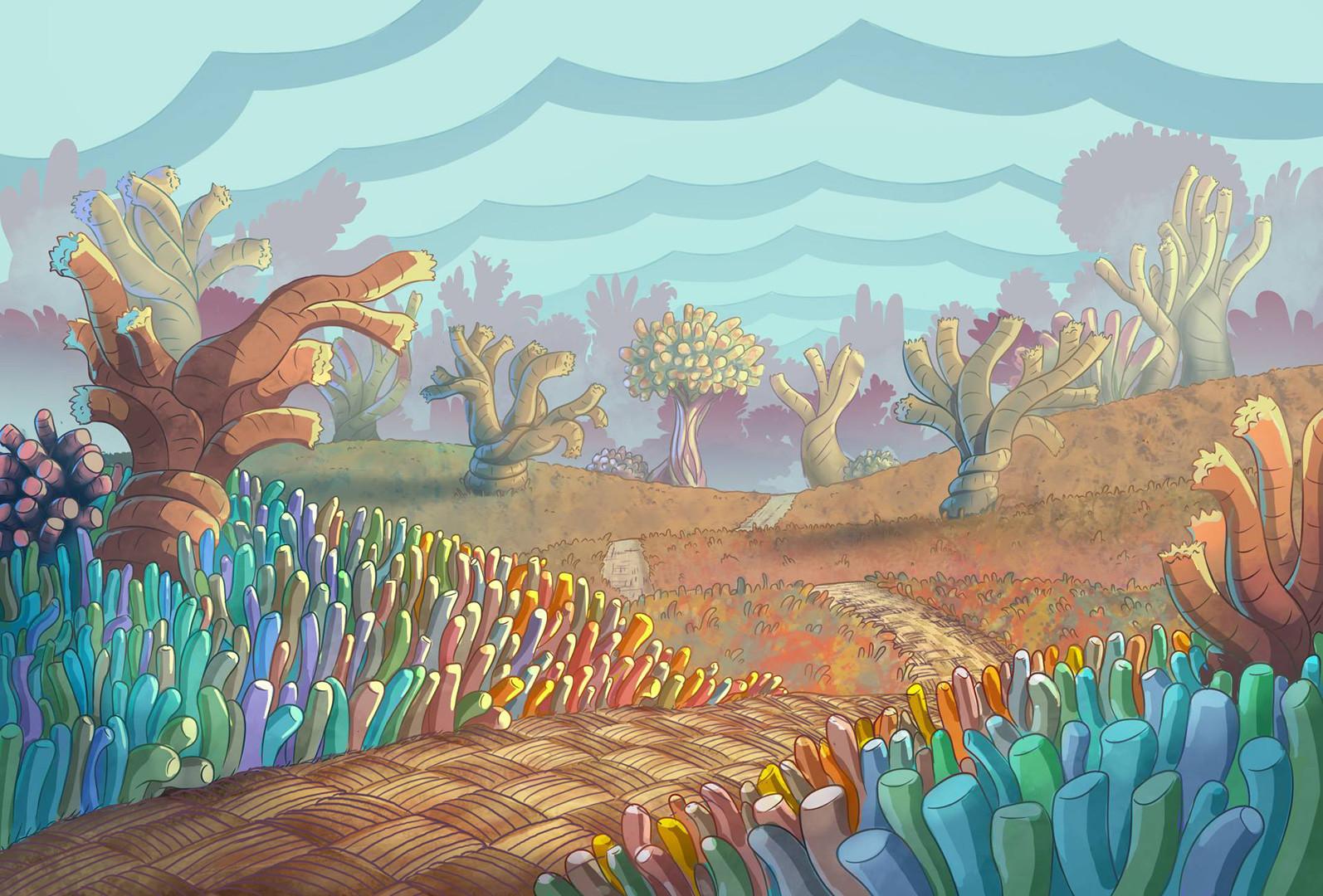 PopCorn Backgrounds | Pilot Episode