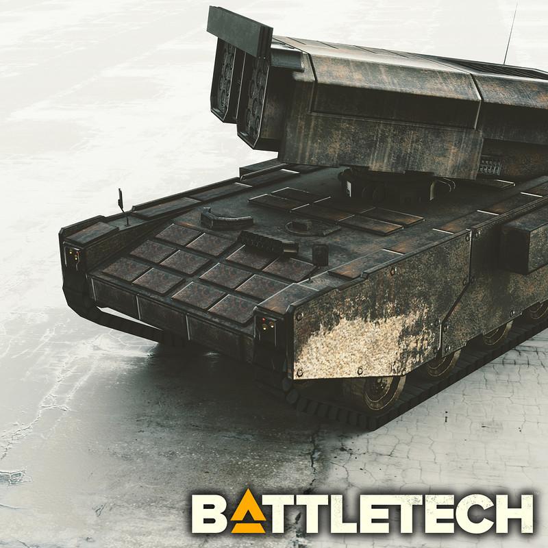 LRM Missile Launcher (BattleTech)