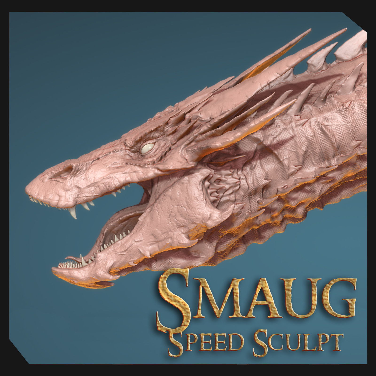 Smaug Speed Sculpt Mudbox 2018.2
