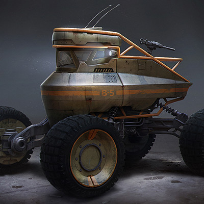 Military vehicle concept