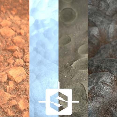 Procedural materials - Various ground