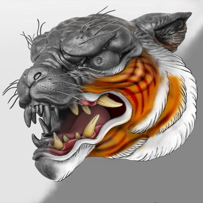 Oscar trejo tiger toon3b