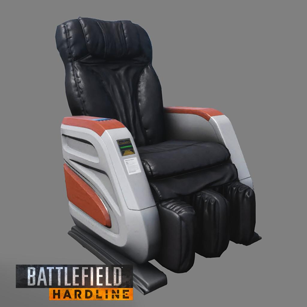 BFH: Destructible Massage Chair Prop