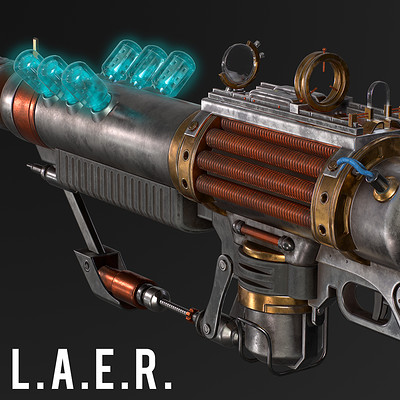 LAER (Laser Assisted Electrical Rifle) - Fallout 4 mod