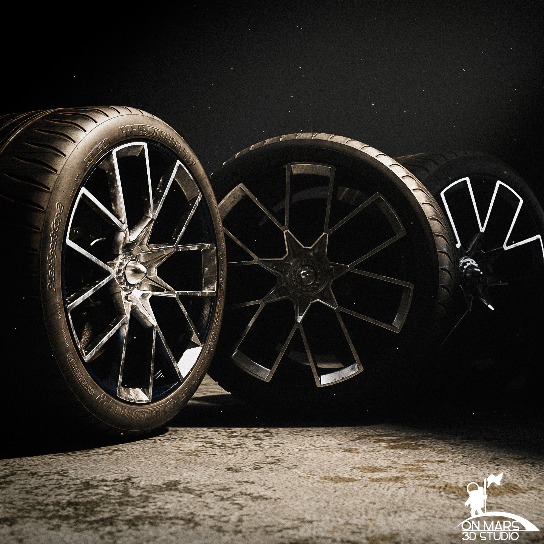 Bugatti Vision GT Wheels