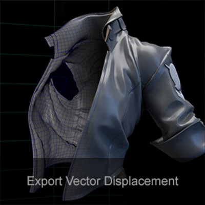 How to export Vector Displacement for Arnold (like a boss)