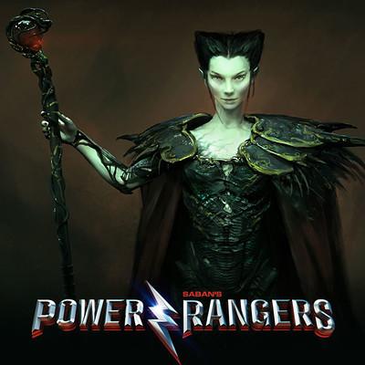 Power Rangers - Rita Concept Art