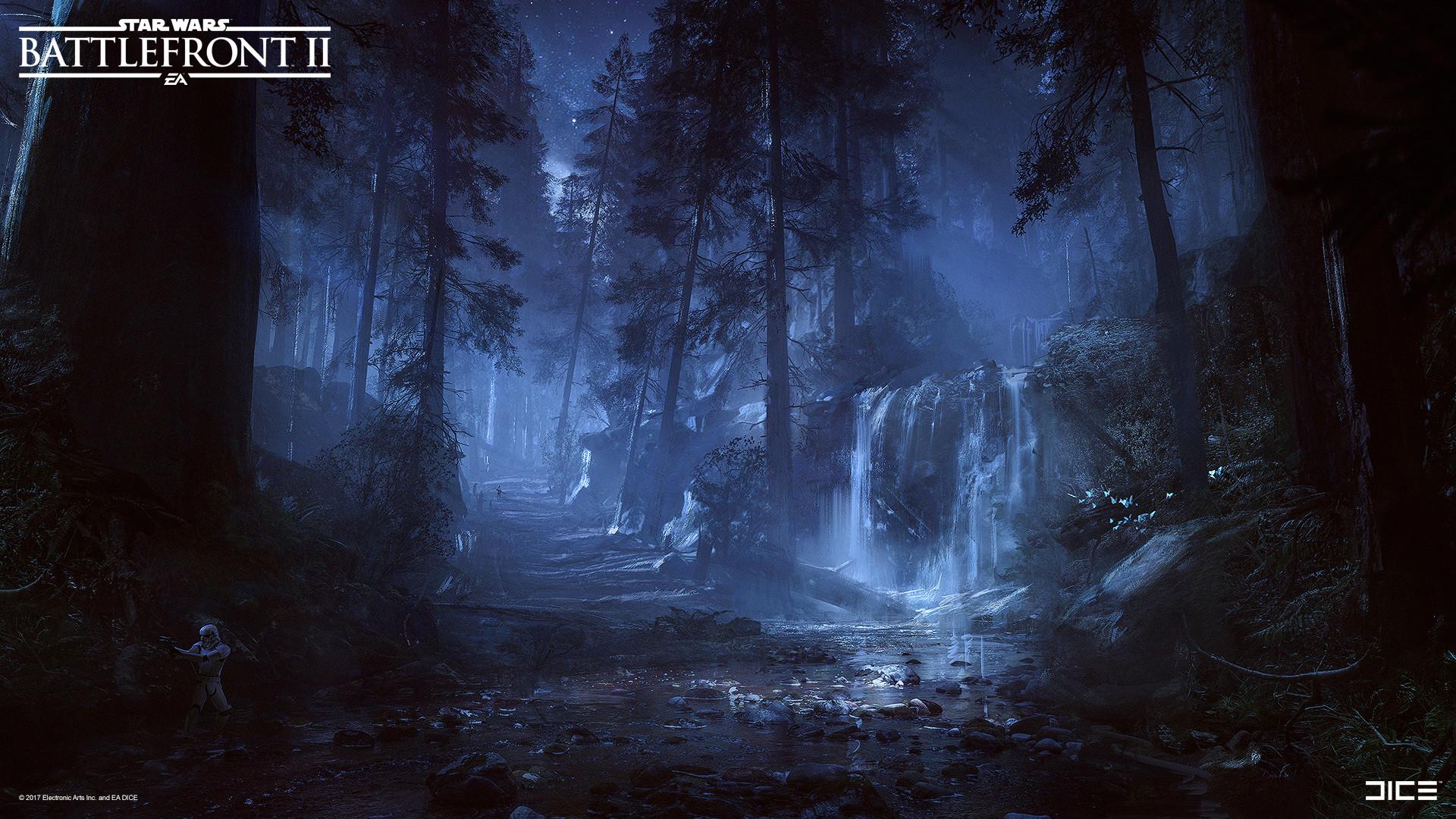 Esbjorn Nord Star Wars Battlefront Ii Concept Art Forest Moon Of Endor