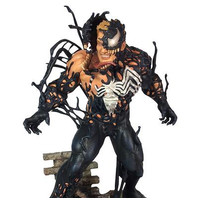 Alterton bizarre marvel gallery venom comic pvc statue 001