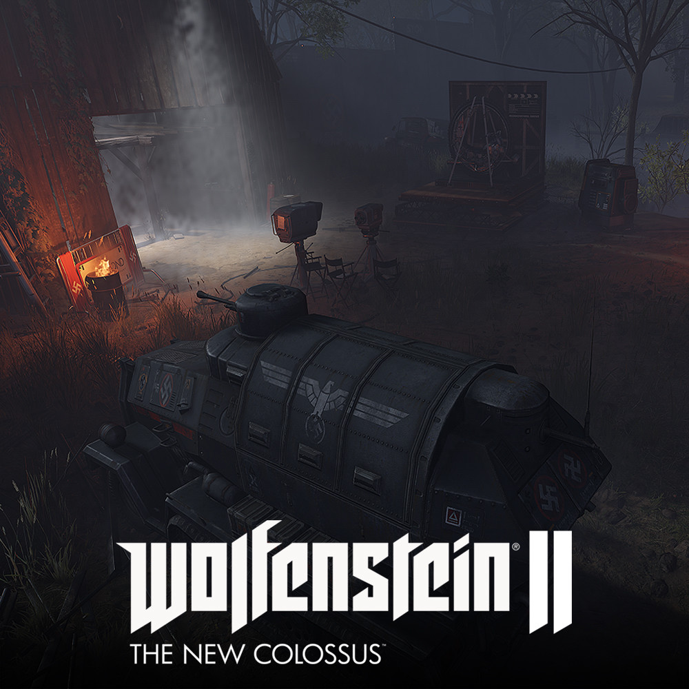 Wolfenstein II: Farmhouse Movie Set District