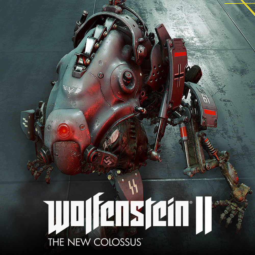 Wolfenstein 2: Laserhund 61 LowPoly