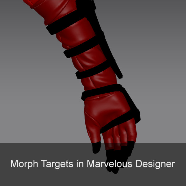 How to use Morph Targets in Marvelous Designer (like a boss)
