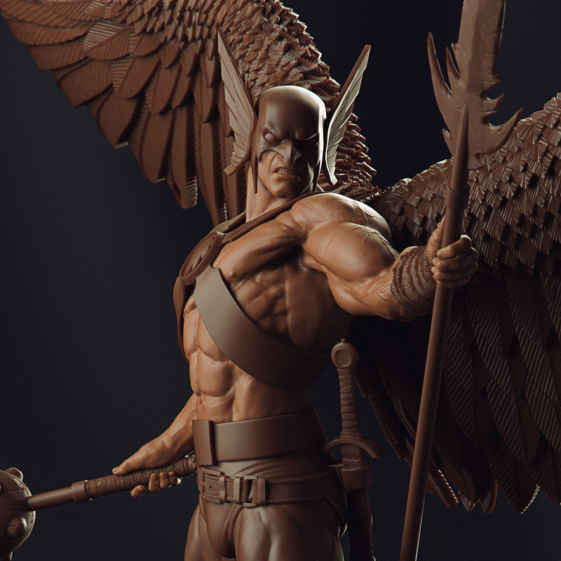 Hawkman - Art Scale 1/10 CCXP Exclusive - Iron Studios