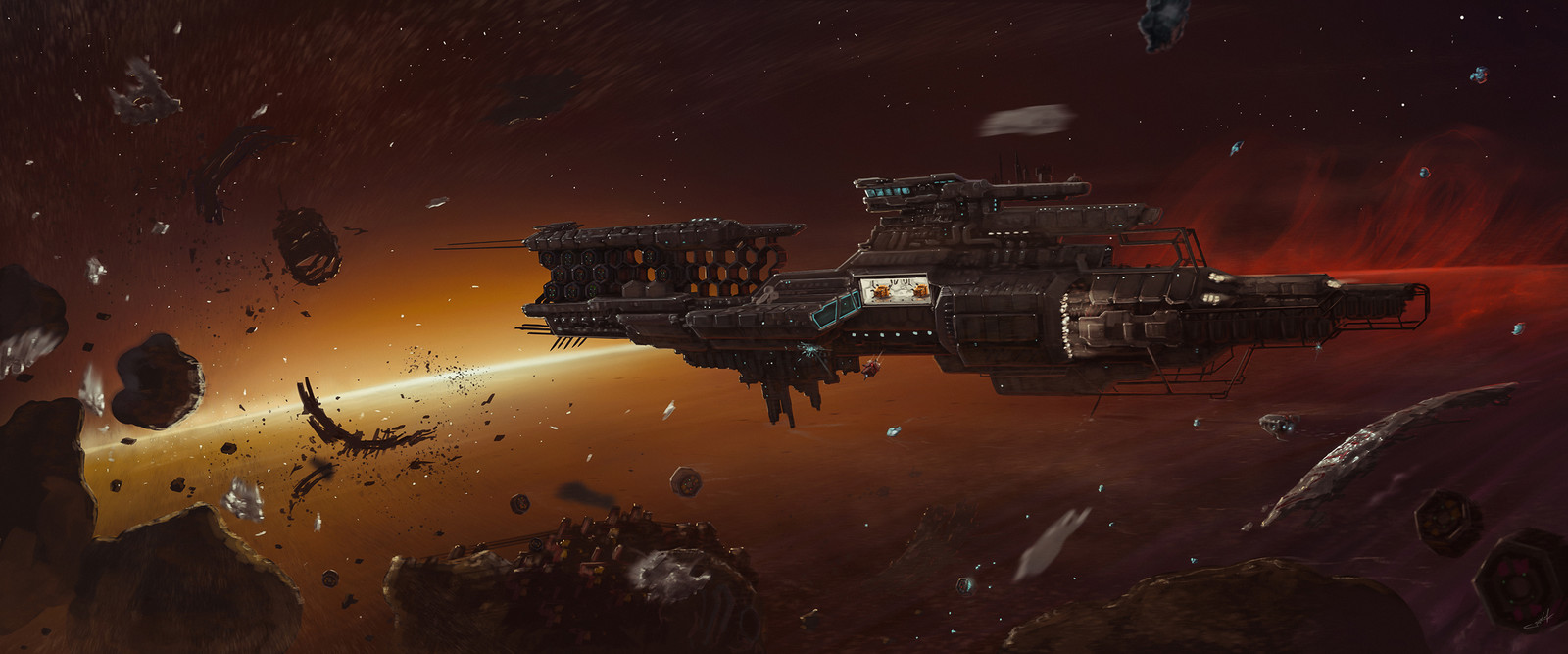 The Abandoned Space Station