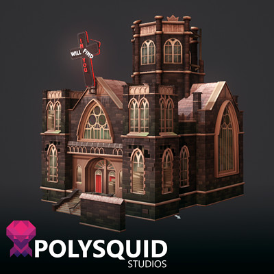 Poly squid church