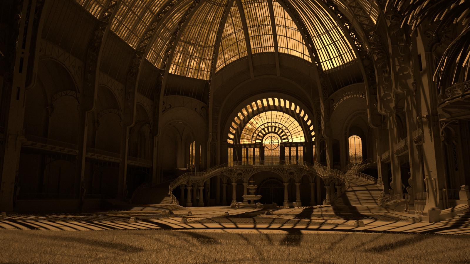 Grand Palais, France_GreyShaded