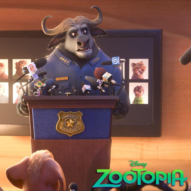Zootopia News Props
