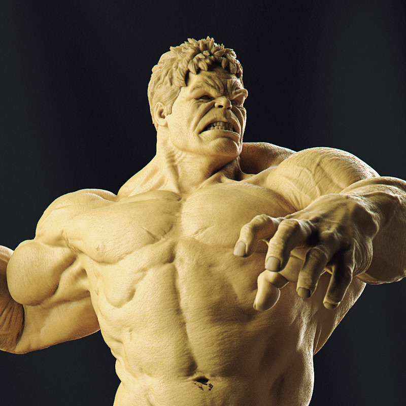 Hulk - Age of Ultron - 1/6 Scale Battle Diorama - Iron Studios