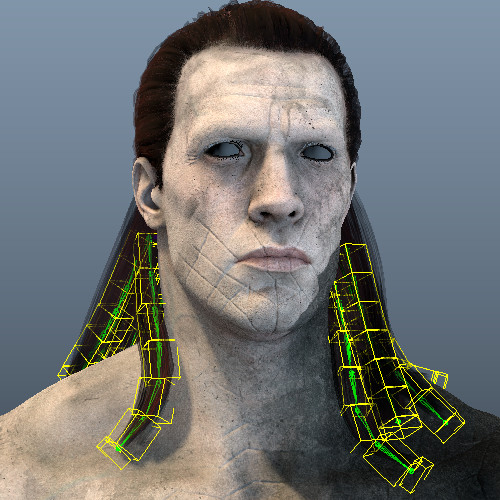 Rigging R&D - Hair rigs