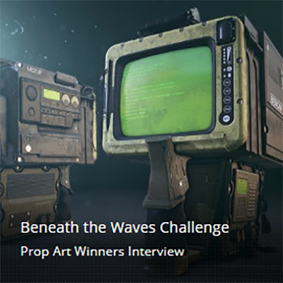Beneath the Waves Challenge Prop Art Winners Interview