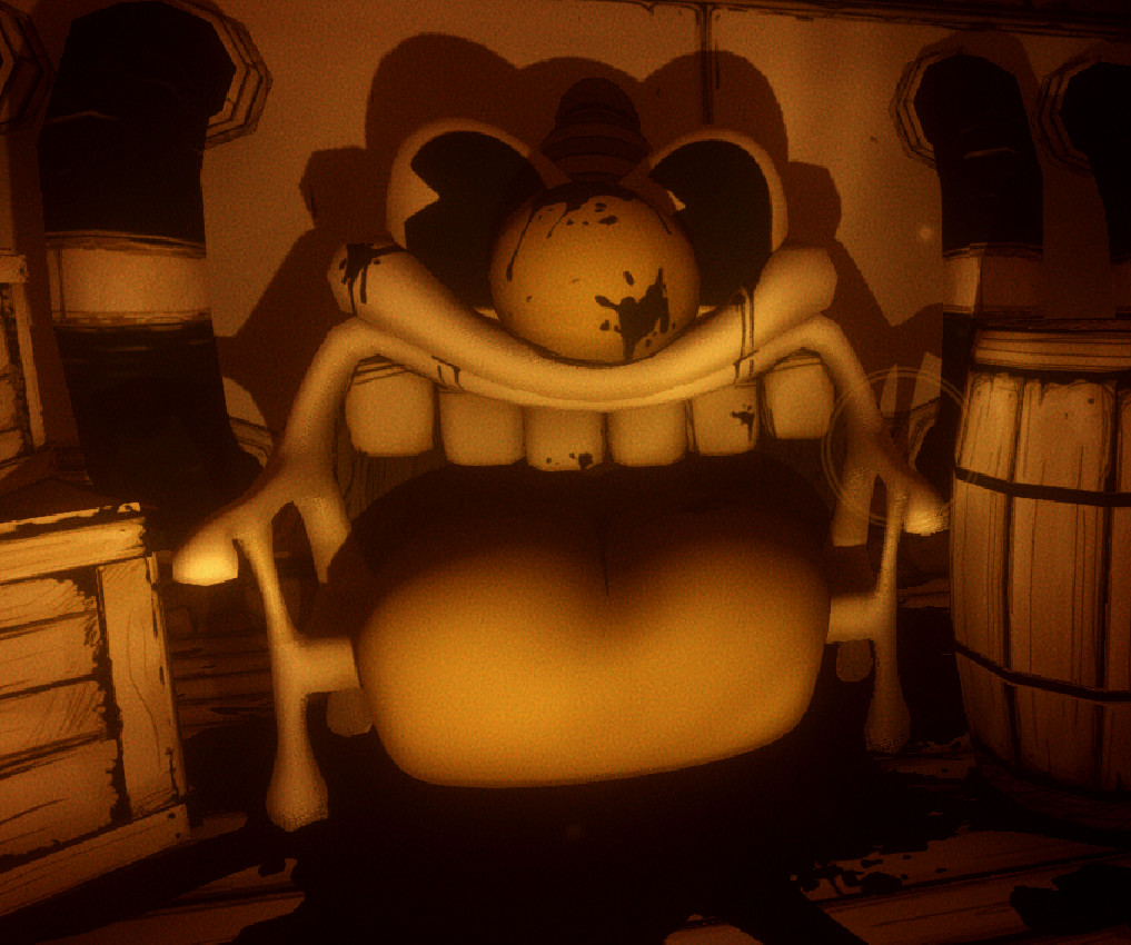 Bendy and the Ink Machine Chapter 4 A few of the props and environments