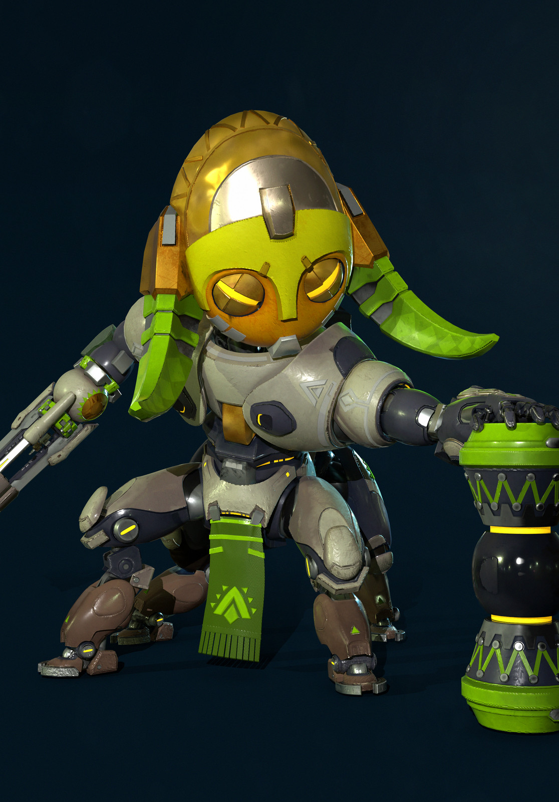 Orisa | Cute Spray ver | Overwatch