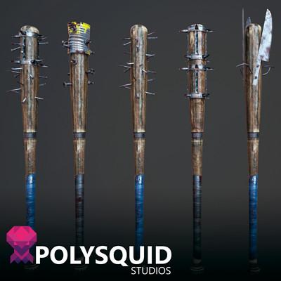 Poly squid mod bats