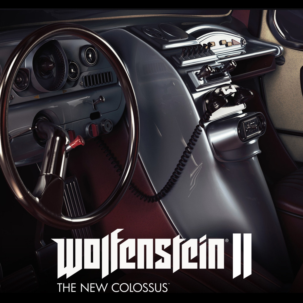 Wolfenstein II: Car Dashboards