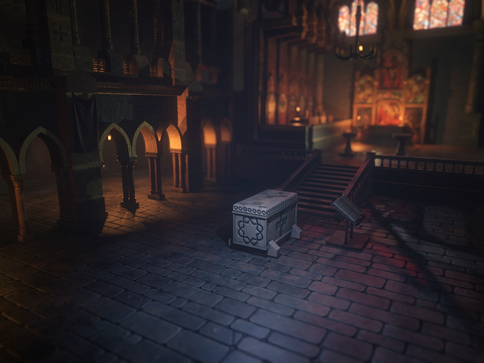 RPG Gothic Council Church