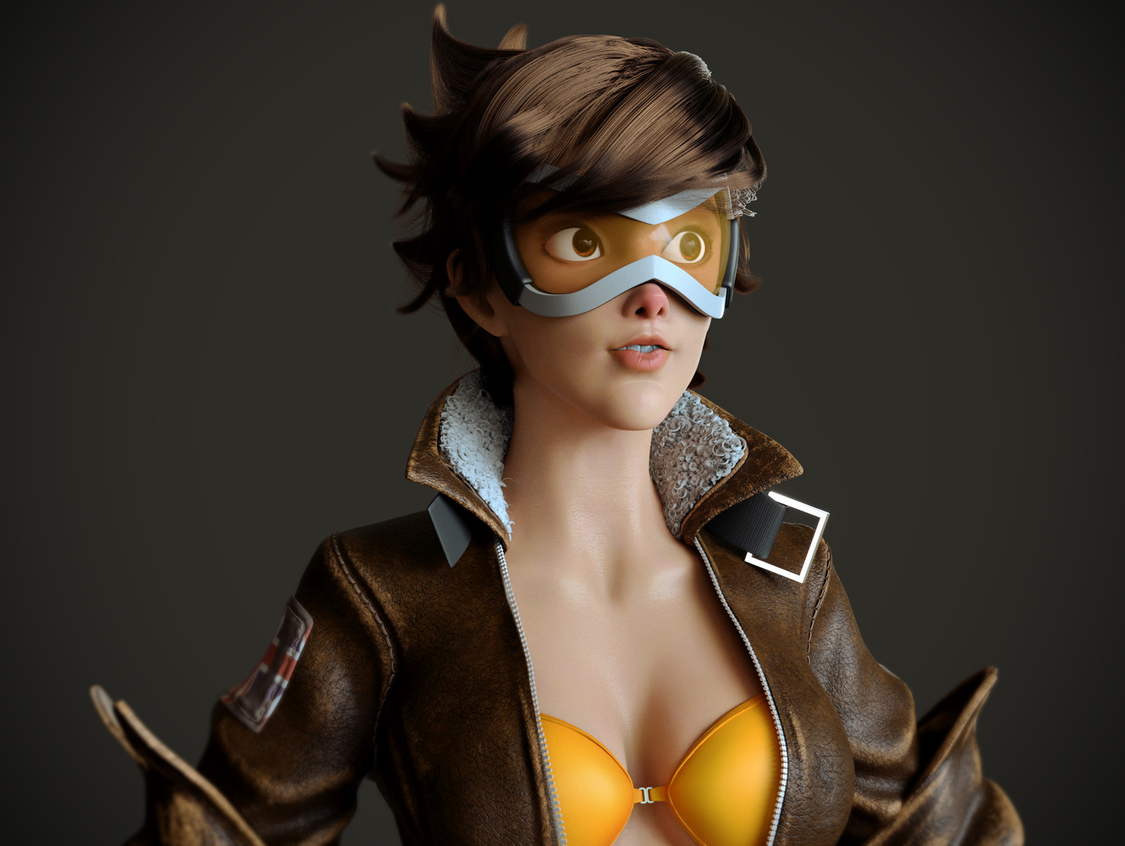 Tracer Overwatch  - Fan Art
