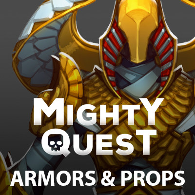 MIGHTY QUEST - Armors & Props