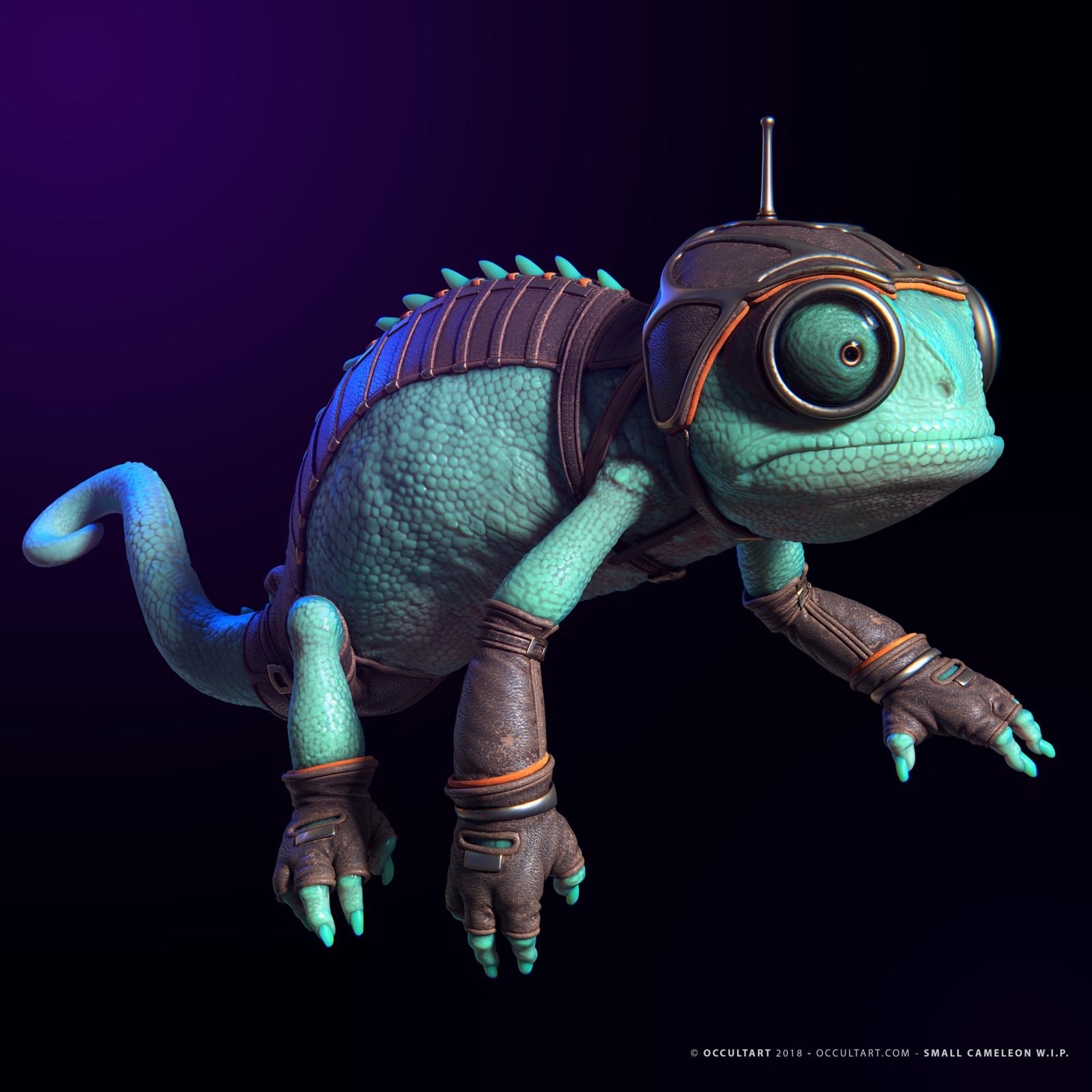 Small chameleon W.I.P.