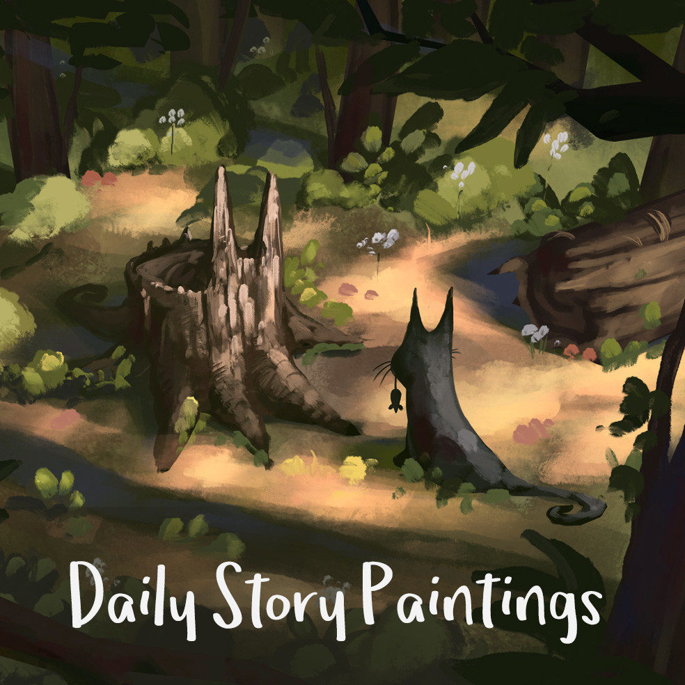 Daily Story Paintings