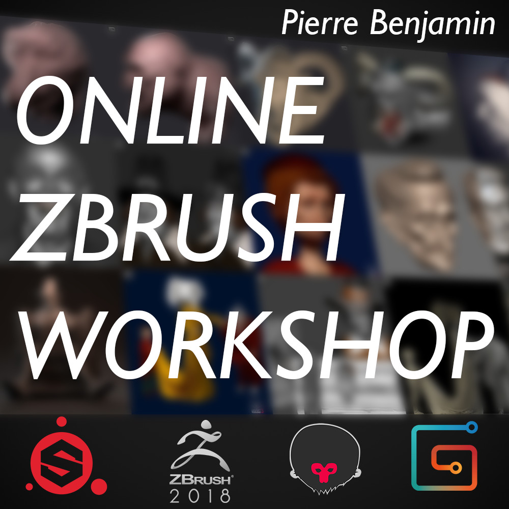 Online ZBrush workshop - Summer 2018