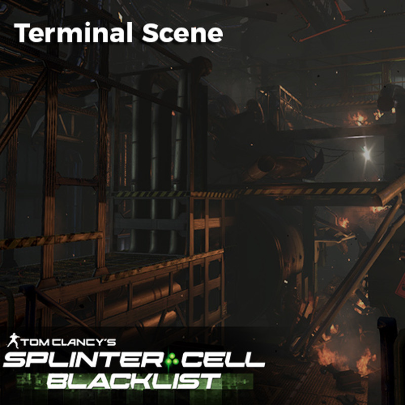 Splinter Cell Blacklist Terminal Level