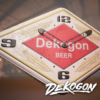Dekogon - Beer Clock