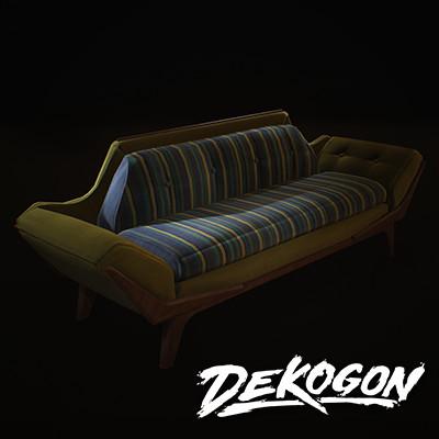Dekogon - Chair 06 (Mid Century Modern)