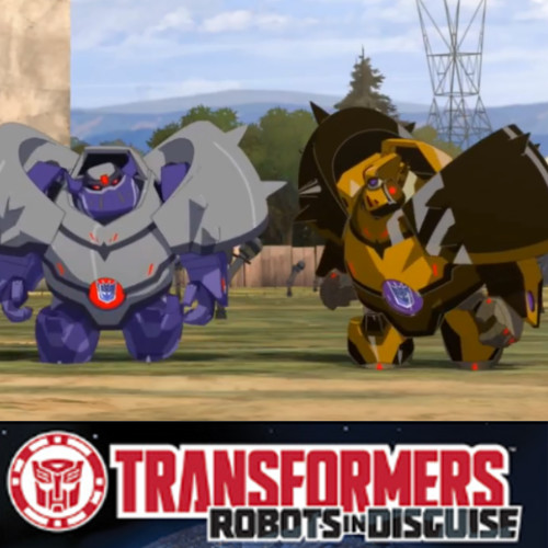 Transformers Robots in Disguise - Clout & Bludgeon
