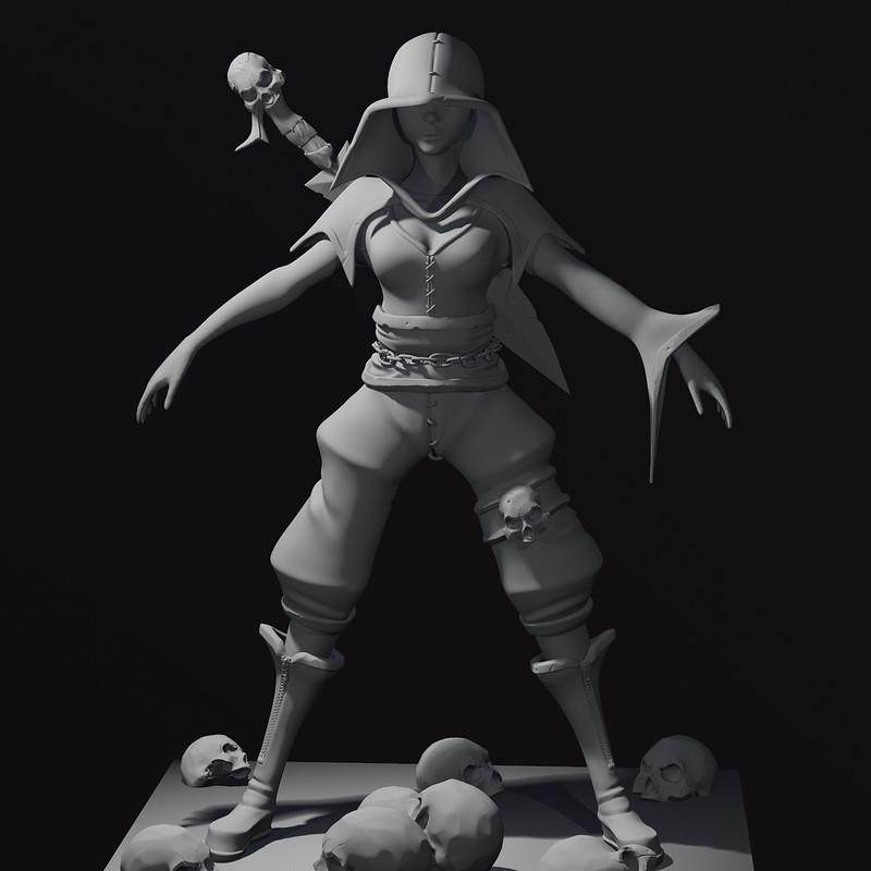 Vampire Mila Sculpt