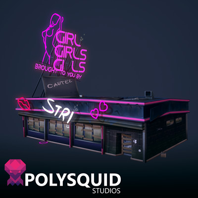 Poly squid strip