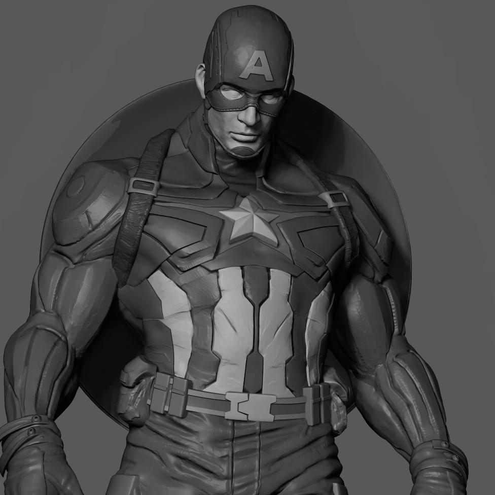 Captain America__WIP